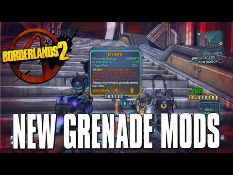 Borderlands 2 - Fire Storm / Chain Lightning Legendary Weapons Guide (Tiny Tina DLC)