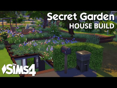The Sims 4 House Building - Secret Garden