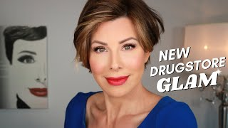 New! Drugstore GLAM Makeup Tutorial | Dominique Sachse