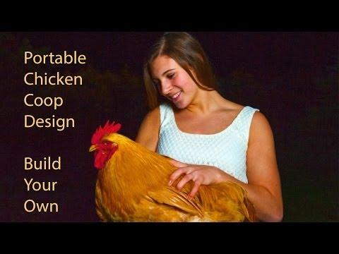 Portable Chicken Coop AKA Chicken Tractor, www.FredsFineFowl.com