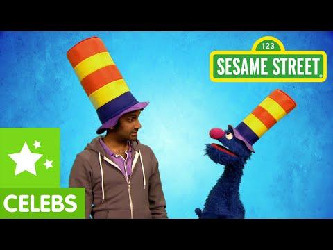 Aziz Ansari Teams Up With Grover To Get Ridiculous