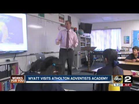 Atholton Adventist Academy Visit - 11/15/2012
