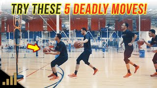 How to: 5 Simple but DEADLY Stutter Step Moves to KILL DEFENDERS!