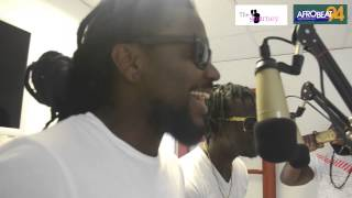 Samini, Jupitar & Bigg Nash on Afrobeat 94FM