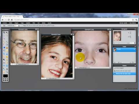 Quitar ojos rojos de las fotos fácil y rápido con Pixlr o Picasa (español, 2013)