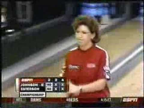 Here is part 1 to the best woman's series match by far this season between Liz Johnson and Joy Esterson. Enjoy :D.