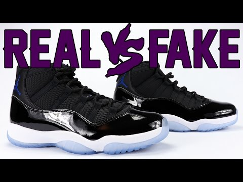 Real vs Fake Air Jordan 11 Space Jam 2016 Legit Check