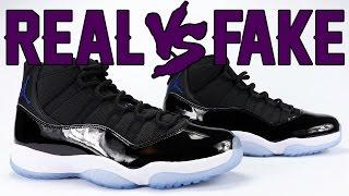 Real vs Fake Air Jordan 11 Space Jam 2016 Legit Check