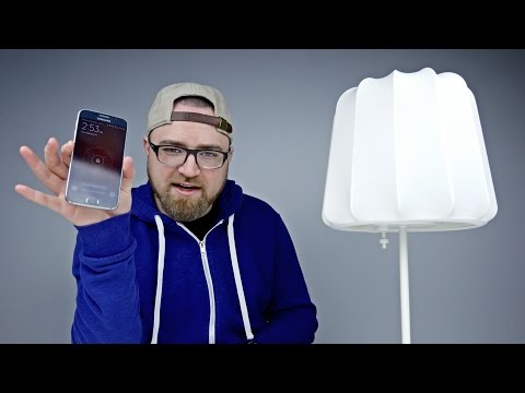 Charge Your Phone With A Lamp