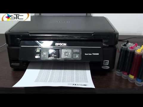 Multifuncional Epson Stylus TX430W Sistema de Tinta Continua