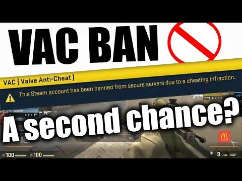 VAC Ban Wave - CS:GO Cheater Rehabilitation?