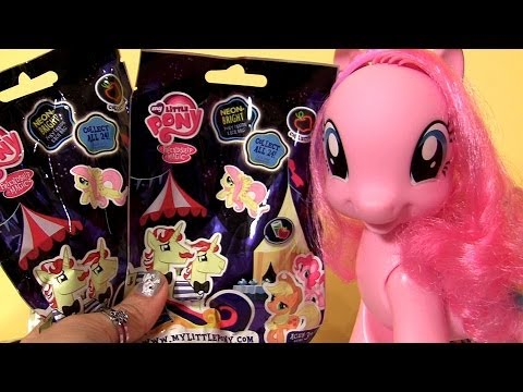 My Little Pony Surprise Blind Bags Pinkie Pie, Sky Wishes, Royal Riff, Sunny Rays, Ribbon Wishes