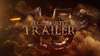 Blockbuster Trailer 15 After Effects Template
