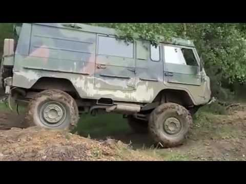 Volvo TGB 11 - C303 Laplander extreme offroad, near crash - YouTube