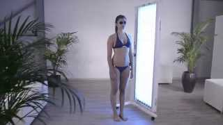 Full-body UV therapy device for an effective treatment of psoriasis
