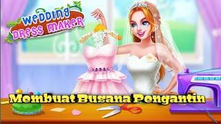 Game Untuk Anak Anak Membuat Gaun Pengantin - Wedding Dress Maker - Princess Boutique