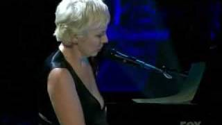 Watch Annie Lennox Bridge Over Troubled Water video