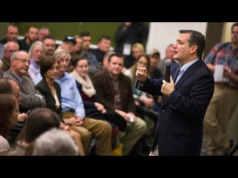 Ted Cruz slams Hillary Clinton at Iowa event