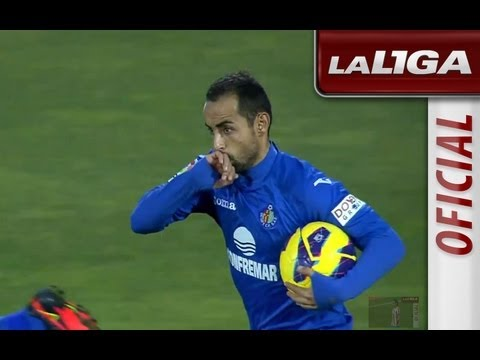 Getafe Getafe VS Osasuna 1-1 All goals highlight  15/12/2012