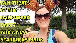 Fall Treats at The Halloween Party and Disney Springs - Walt Disney World 2019
