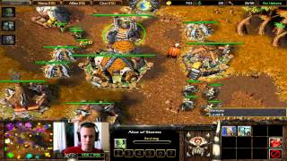 Warcraft 3 - 4v4 RT 102