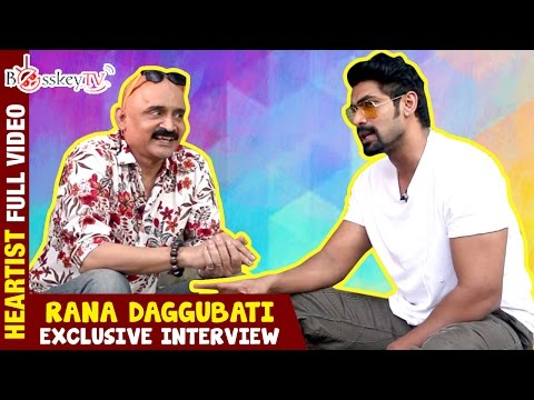 I wore pants for my movie after 3 years | Rana Daggubati | Heartist | Exclusive | Full Video thumbnail
