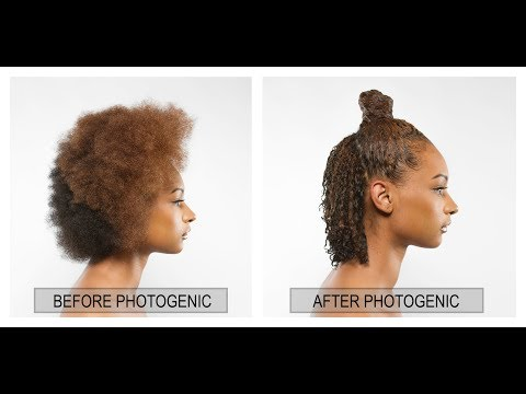 ONLY ONE STYLING PRODUCT: High Bun Natural Hair Tutorial