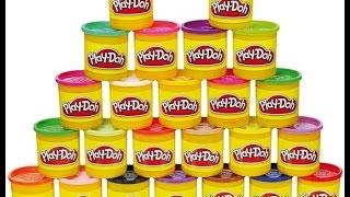 plastilina para niños en español /Manualidades con play doh para niños