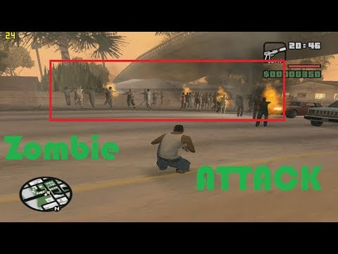 Zombie Takedown   GTA San Andreas   CLEO Mod [+ DOWNLOAD LINK]