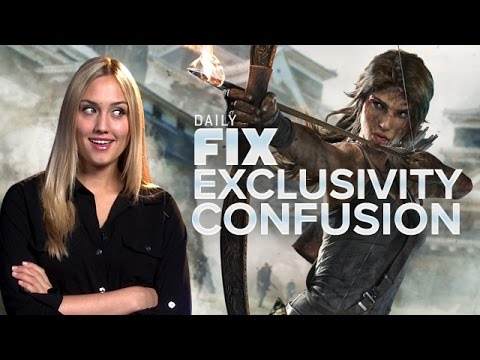Why Tomb Raider's Exclusive & Sony's Amazed - IGN Daily Fix