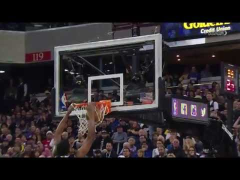 Rudy Gay's Ridiculous Poster Dunk on Ibaka