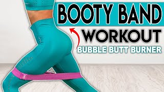 Resistance Band Booty Home Workout ???? Build Muscle Challenge No.11