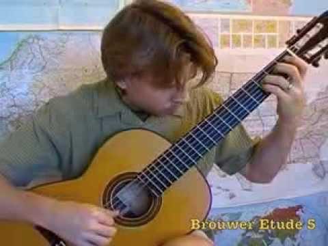 Leo Brouwer - Estudios Sencillos Study No 5