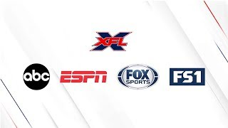 XFL games to air on ABC, ESPN, Fox and FS1.