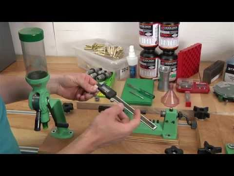 What You Need to Start Reloading Rifle Ammunition - a Walkthrough