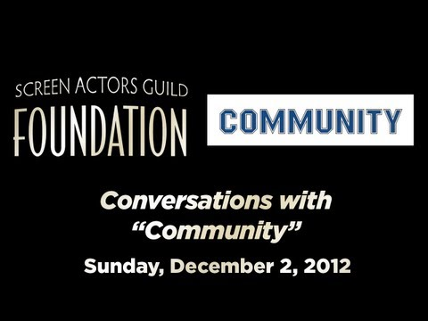 Conversations with Joel McHale and the cast of COMMUNITY