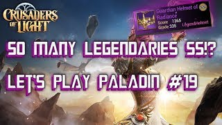 SS MAXED LEGENDARY!? - Paladin - Let's Play #19 - Crusaders of Light
