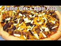 BBQ Pulled Pork Pizza - How to make a Barbecue Pizza
