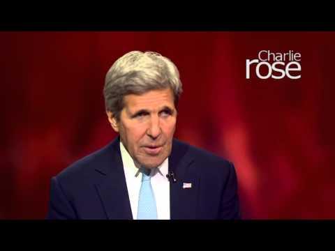 "John Kerry: ""People say, what has happened in the U.S.?"" (Apr 5, 2016) | Charlie Rose,"