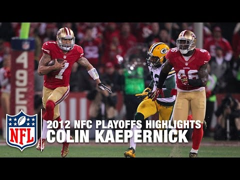 Colin Kaepernick Shreds Packers Nfl 2012 Divisional Round Highlights