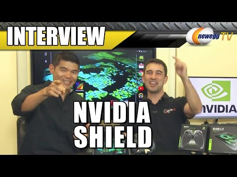 NVIDIA SHIELD Tablet Interview - Newegg TV