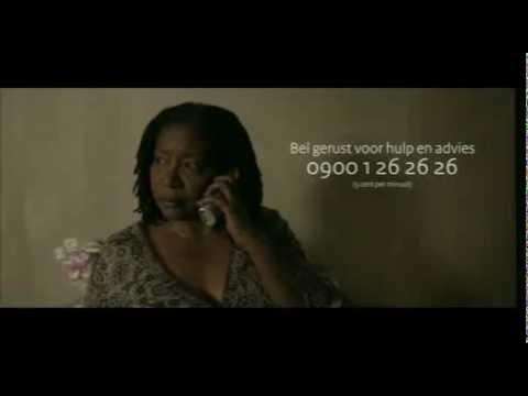 Huiselijk geweld stopt nooit vanzelf (Campagne)