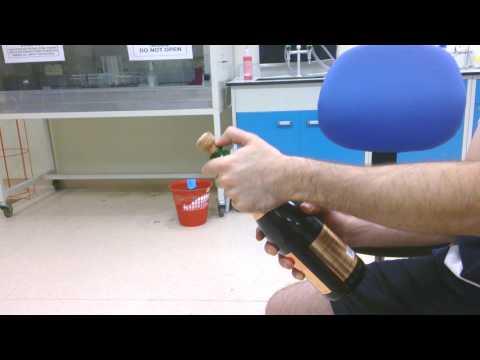 cork pops out of a wine bottle youtube. Black Bedroom Furniture Sets. Home Design Ideas