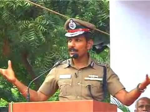 Motivational Speech Of Dr. C. Sylendra Babu, Ips In Amet University video