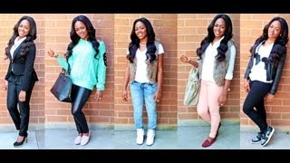 Lookbook: Back To School Outfit Ideas