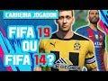 CARREIRA JOGADOR NO FIFA 19: IGUAL AO FIFA 14! UM DESRESPEITO!