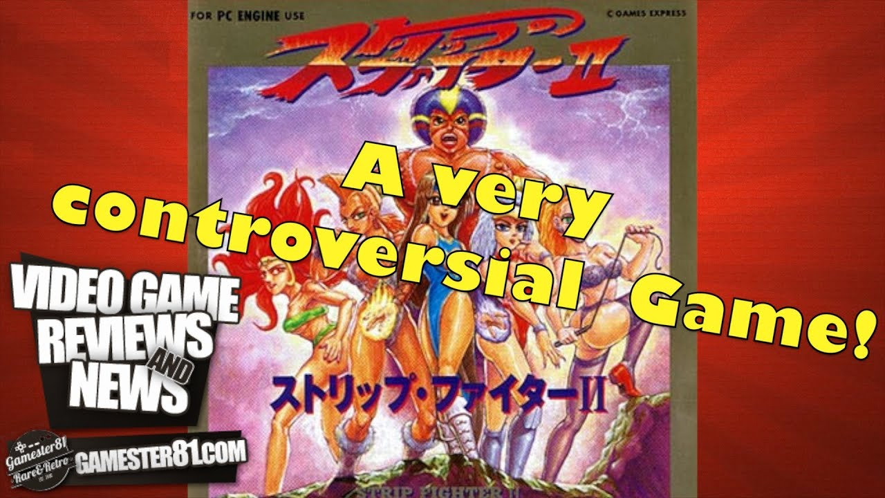 PC Engine - Strip Fighter II [+18] (1993) - YouTube