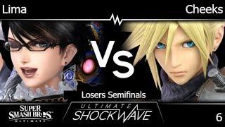 USW 6 - Lima (Bayonetta) vs FRKS   Cheeks (Cloud) Losers Semifinals - SSBU