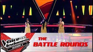 "Download Lagu Gadis & Sharla & Sabi ""Desert Rose"" | Battle Rounds | The Voice Kids Indonesia S2 GTV 2017 Gratis STAFABAND"