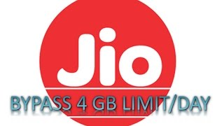 How to Bypass 4 GB data Limit in your JIO [TRICK]